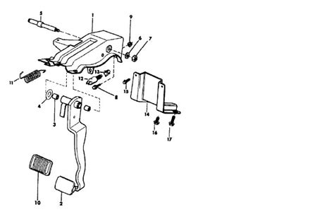 brake pedal assembly diagram jeep clutch diagram jeep free engine image for user