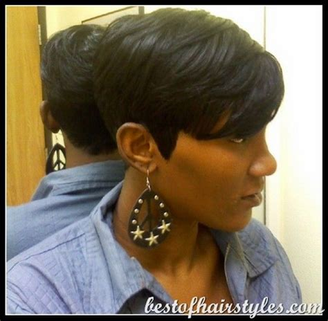 pictures of black hair style short 27 piece 27 piece quick weave short hairstyle 2017 tutorial foto