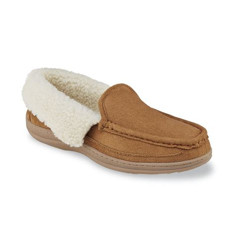 sears slippers for craftsman s janus moccasin indoor outdoor slipper brown