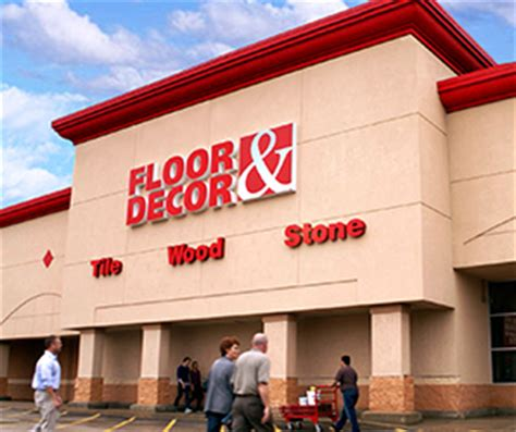 floor decor gives customers a great shopping experience