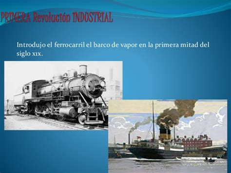 barco de vapor y ferrocarril los medios de transporte