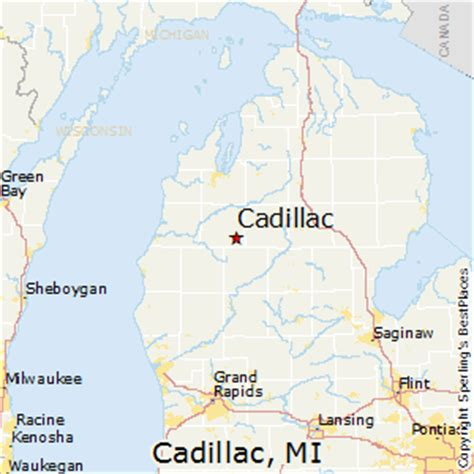 cadillac in michigan best places to live in cadillac michigan