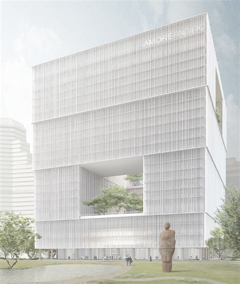 david chipperfields amorepacific hq breaks ground  korea