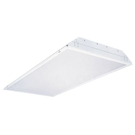 Lithonia Lighting 2GT8 4 32 A12 MVOLT 1/4 MVISPWS1836LP741 4 Light White Fluorescent Troffer