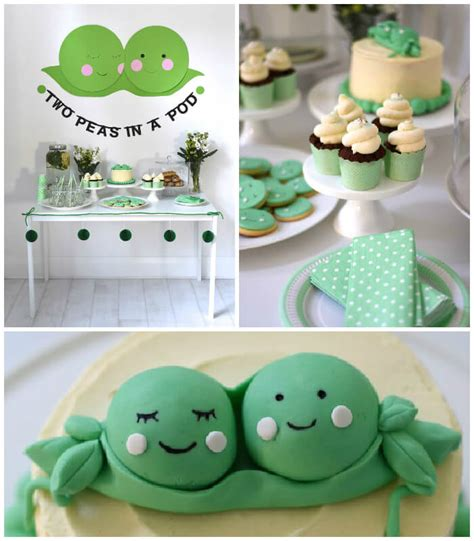 Pea In A Pod Baby Shower by The Best Themes For A Baby Shower Baby Ideas