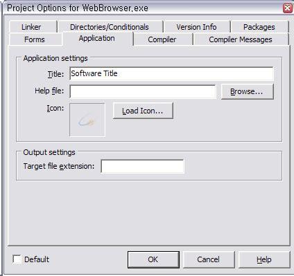delphi directx tutorial 델파이 delphi 7 2 프로젝트 설정 속성 nightly