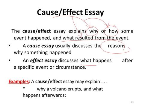 interpretive essay sle sle of a cause and effect essay 28 images sle cause
