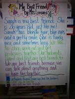 paragraph describing a friend