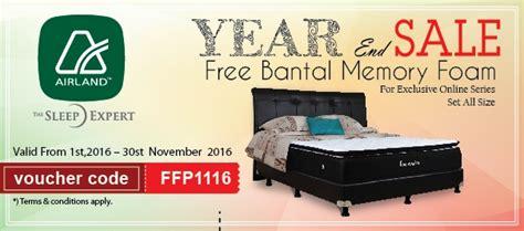 Kasur Bed Terbaik kasur bed tempat tidur matras springbed airland