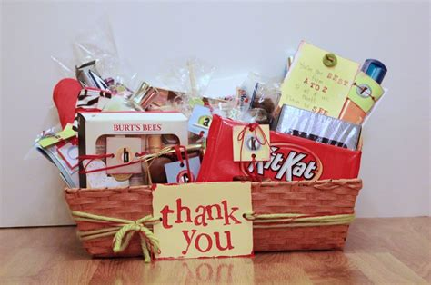 thank you letter gift basket 17 best images about parent volunteer appreciation on