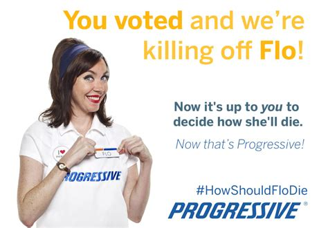 what is flo s real name from the progressive commercial progressive to kill mascot flo with sponsored