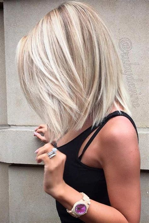 how to make bob haircut look piecy picture of ashy blonde long bob hair