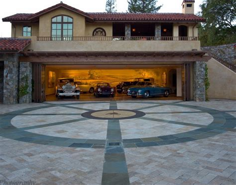 garage house fantastic modern garage design in deluxe house neoteric