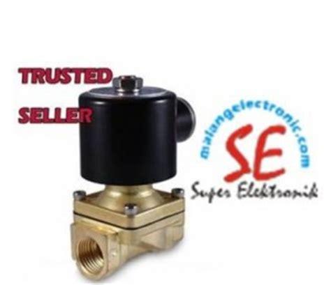 Solenoid Valve Plastik Ukuran Drat 12 X 12 220volt soelenoid valve ukuran kecil 1 8 inch bahan kuningan malang electronic