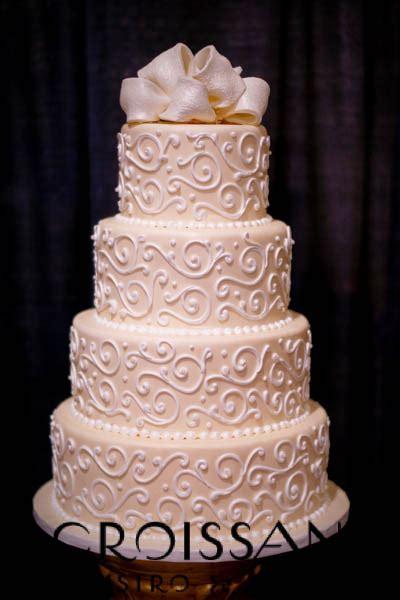 Wedding Cake Origin by Croissants Bistro Bakery Myrtle Sc Wedding Cake
