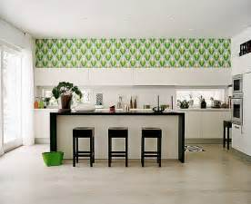 Wallpaper Designs For Kitchens Kitchen Decorating Ideas Vinyl Wallpaper For The Kitchen
