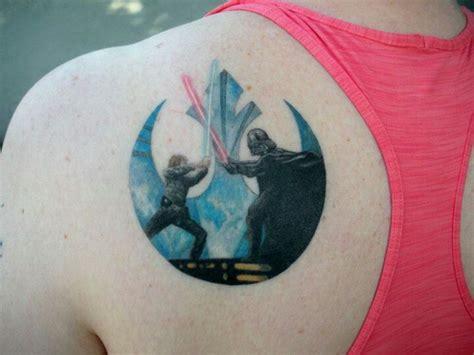 luke skywalker tattoo wars wars darth vader