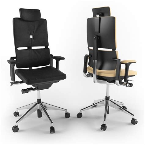 steelcase executive chair 3d model max obj