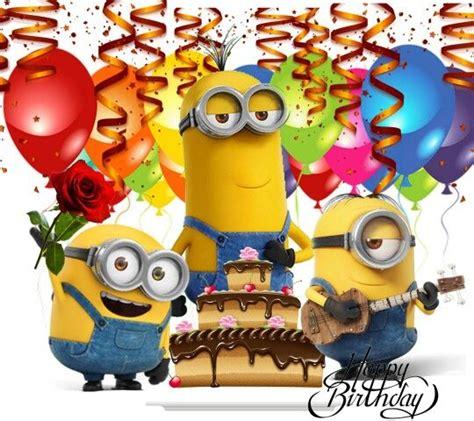 imagenes happy birthday minions die besten 17 ideen zu happy birthday minions auf