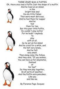 there once was a puffin by florence page jacques poetry