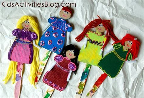 How To Make Paper Dolls - be a princess make paper dolls make paper be cool and boys