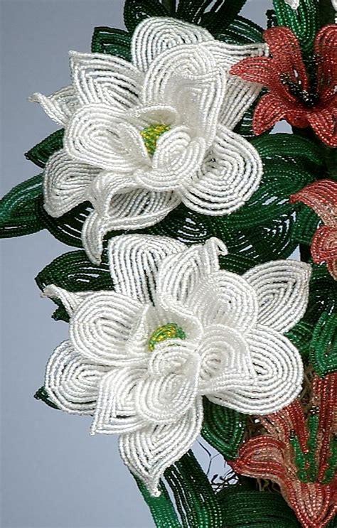 beaded flower patterns 52 best beaded flowers images on beaded