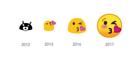 ios emoji on android android o s all new emoji redesign