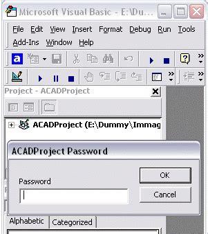 tutorial autocad vba tutorial acad vba 9 visualizzare il codice di un progetto dvb