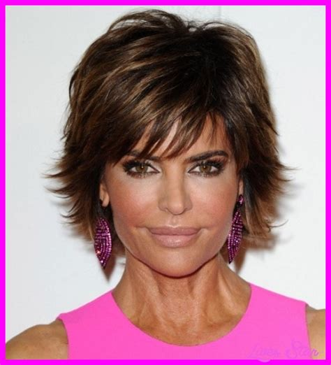 lisa rinna back of head shaggy bob back view hair short hairstyle 2013