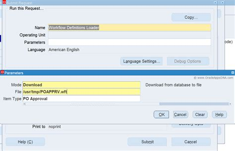 oracle workflow questions wfload how to and upload a workflow oracleappsdna