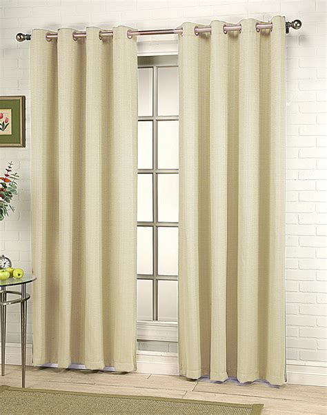 modern grommet curtain panels gramercy grommet curtain expresso rhf contemporary