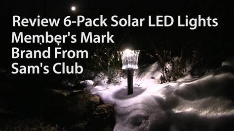 members lights review members 6 pack solar led outdoor lights from