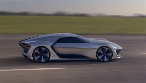 volkswagen sports car in vw gt ge is an electrifying sports car design study images