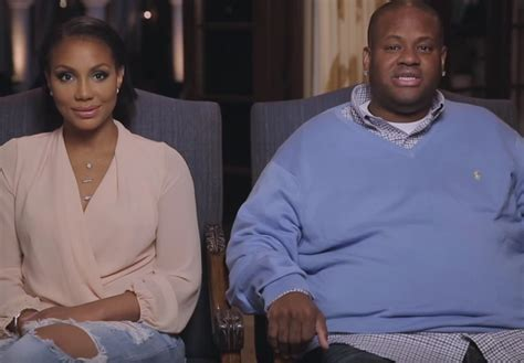 tamar braxton husband vincent herbert black time travel vince allegedly has a love child with