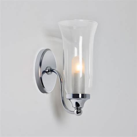 Decorative Bathroom Lights Fluted Glass Decorative Bathroom Wall Light