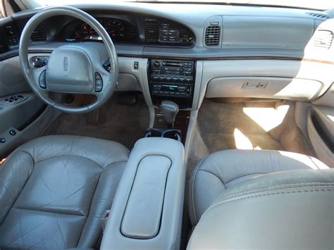 2002 Lincoln Continental Interior by Curbside Classic 1995 2002 Lincoln Continental In