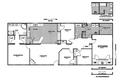 Clayton Manufactured Home Floor Plans by Manufactured Home Floor Plan 2009 Clayton Chaparral