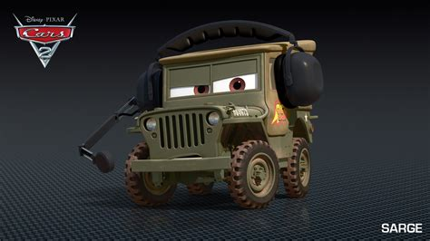 Jeep Character Cars 2 Character Images Descriptions