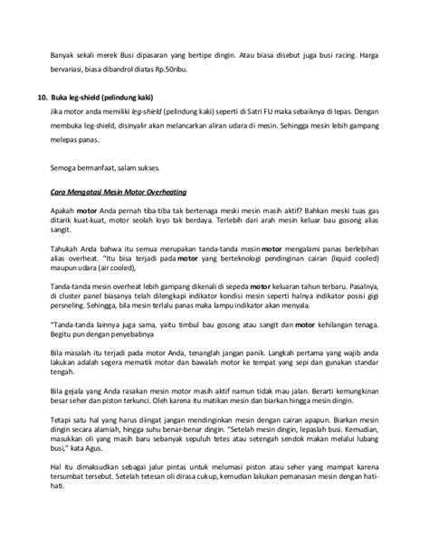 Pelindung Radiator Fu tips merawat kopling biar awet