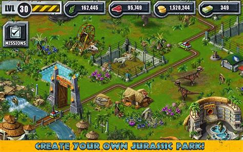 download game jurassic park builder mod for android jurassic park builder ludia