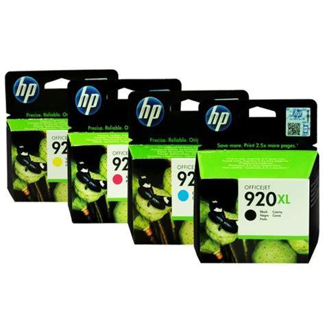 Hp 920xl Colour hp 920xl black officejet ink cartridge theofficepanda