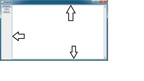 java layout fill width java jtabbedpane will not fill entire jpanel stack