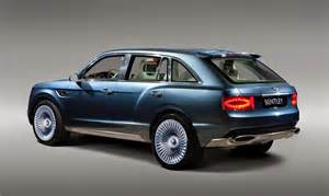Bentley Suv Smaller Bentley Suv To Follow Size Model