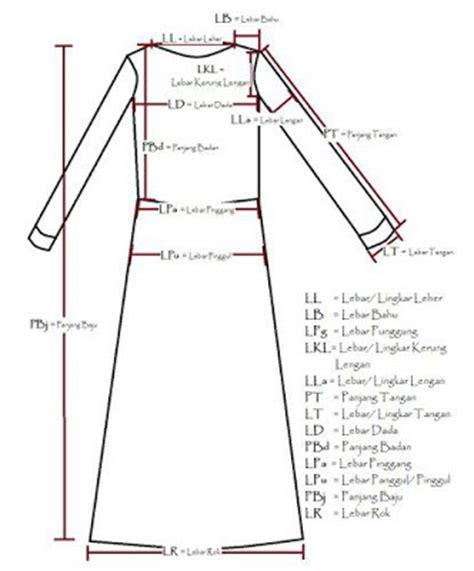 membuat pola baju wanita gambar contoh pola baju muslim untuk menjahit