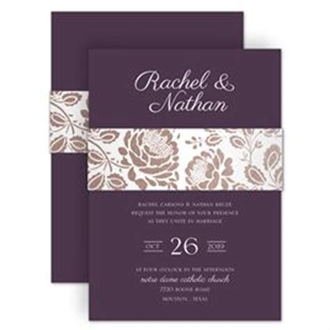 A M Home Decor by Wedding Invitations With Belly Bands Invitations By Dawn