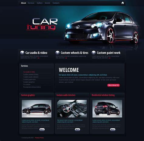 car tuning turnkey website