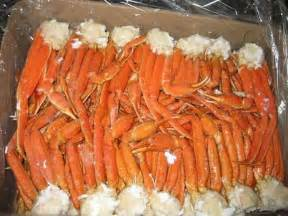 cooked snow crab legs clusters brine frozen buy canadian