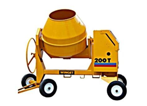 Mixer Es peden power ltd mixers w200t es electric start 2 bag
