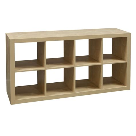 8 cubby used bookcase maple national office interiors