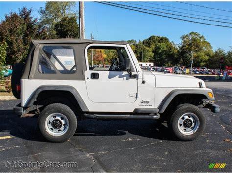 2003 Jeep Wrangler Se 2003 Jeep Wrangler Se 4x4 In White Photo 7 346272
